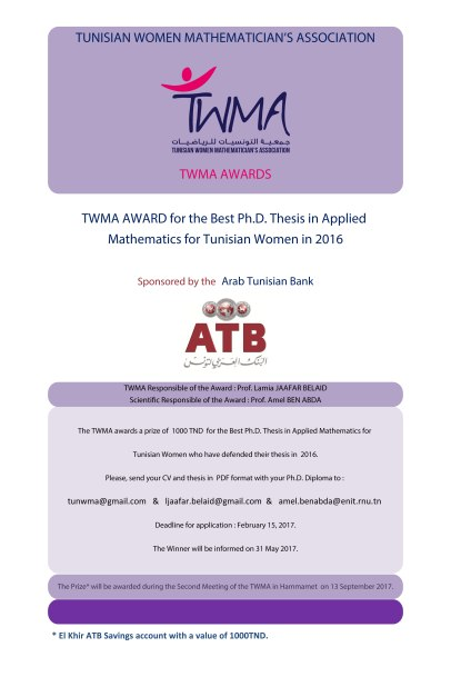 twma-award-for-the-best-ph-d-in-appl-math-2016