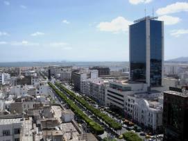 Avenue Habib Bourguiba Tunis